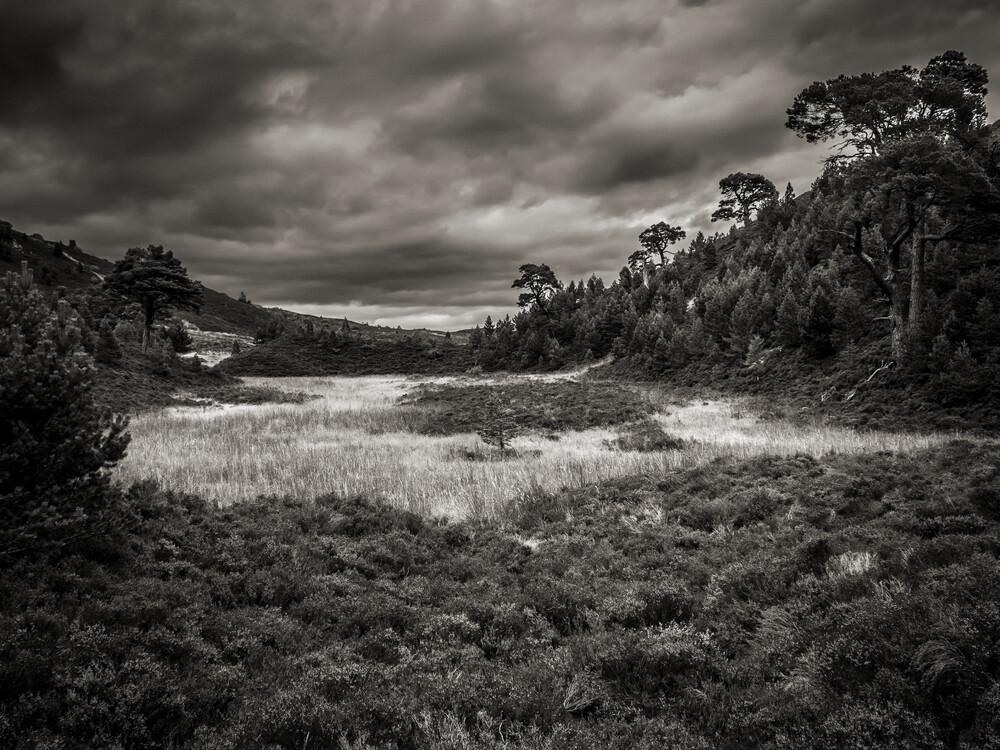 The Highlands in Scotland - fotokunst von Jörg Faißt