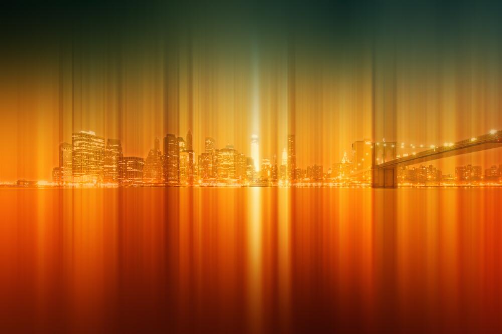 New York City - fotokunst von Alexander Voss