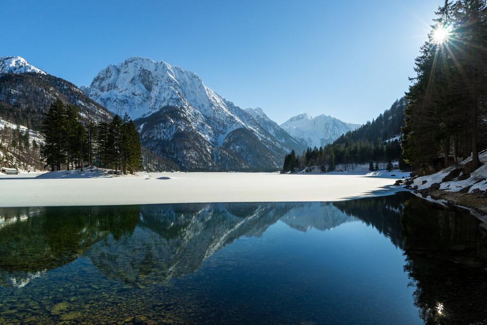 Lago del Predil - fotokunst von Manuel Ferlitsch