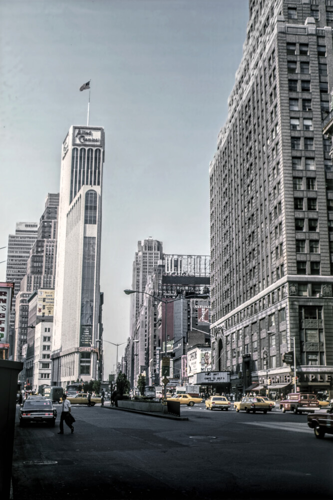 NYC 50th I - Fineart photography by Michael Schulz-dostal