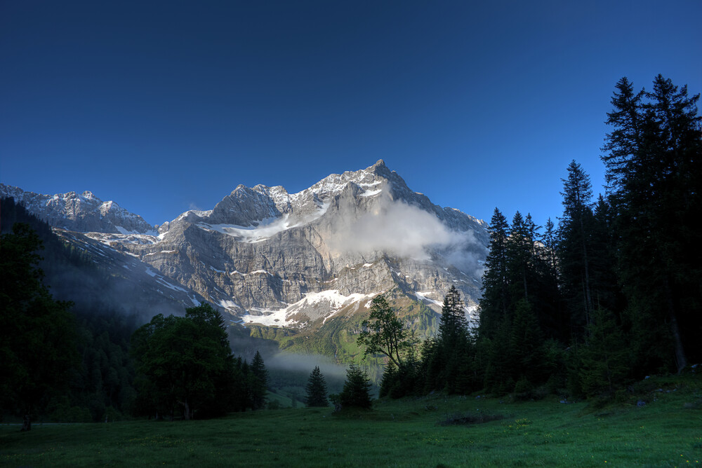 Spritzkarspitze - fotokunst von Björn Groß