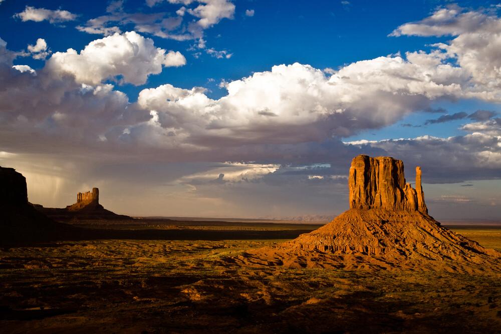 Monument Valley - fotokunst von Matthias Reichardt