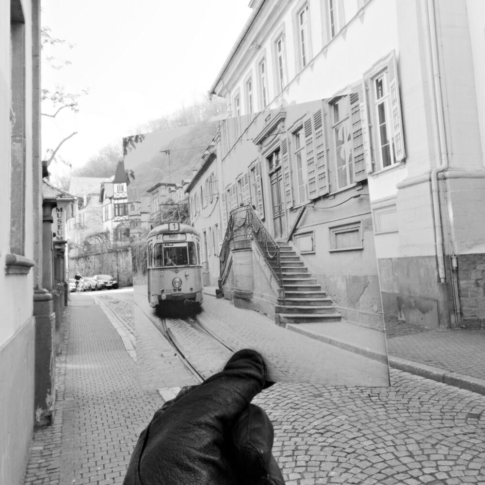 Heidelberg Haus Buhl 1978//2013 - fotokunst von Sophia Frohmuth