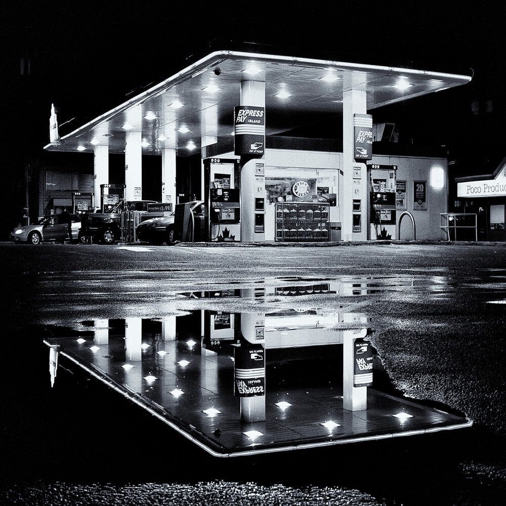 Rain is over - fotokunst von Jianwei Yang