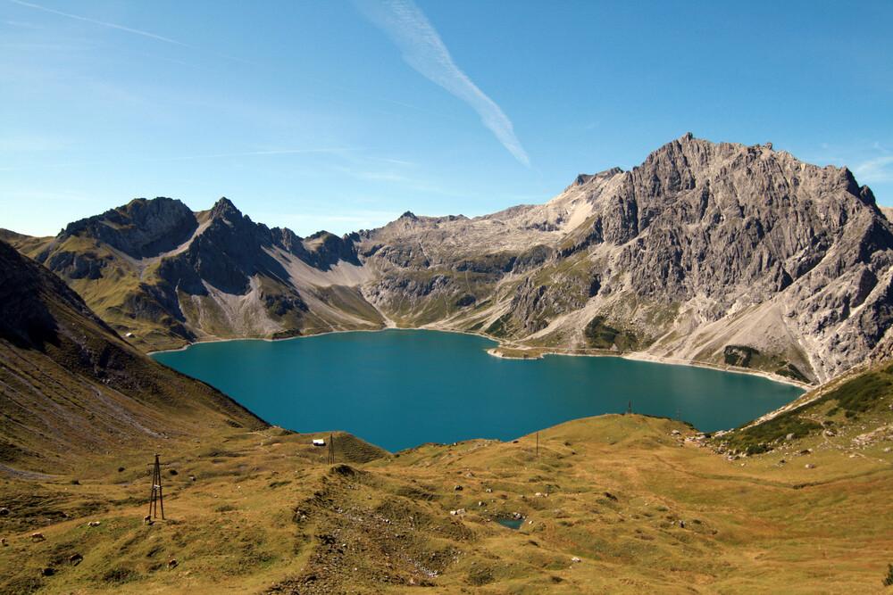 Bergsee - fotokunst von Jens Berger