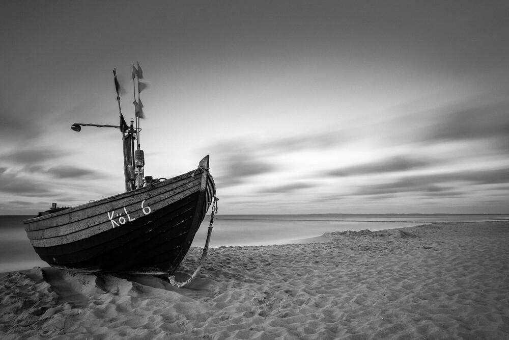 Abends am Strand - fotokunst von Sebastian John