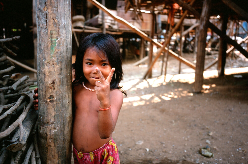 Cambodia Kompong Pluck - Fineart photography by Jim Delcid
