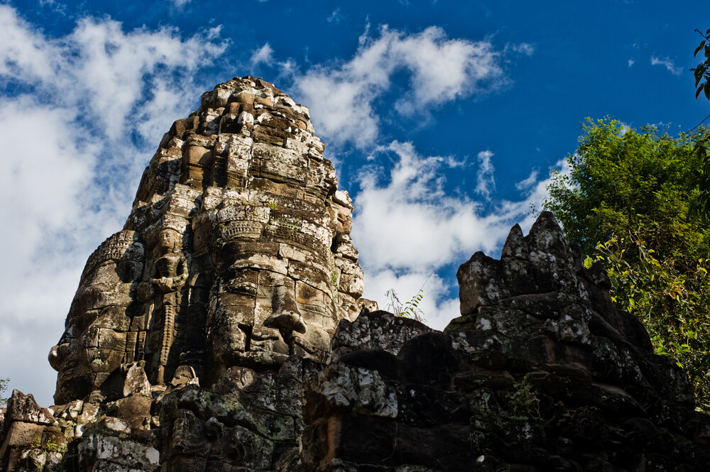 Steinerne Gesichter von Angkor - Fineart photography by Michael Wagener