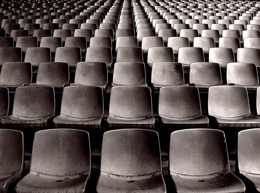 Waiting for the game - fotokunst von Norbert Dahlmann