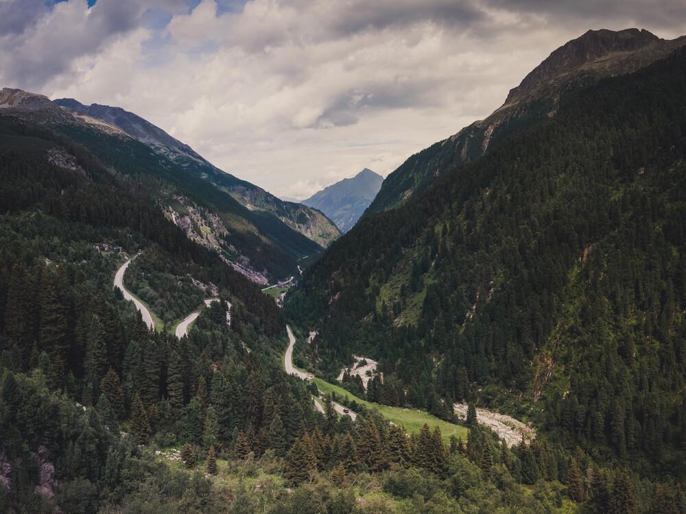 In the Mountains - fotokunst von Thomas Richter