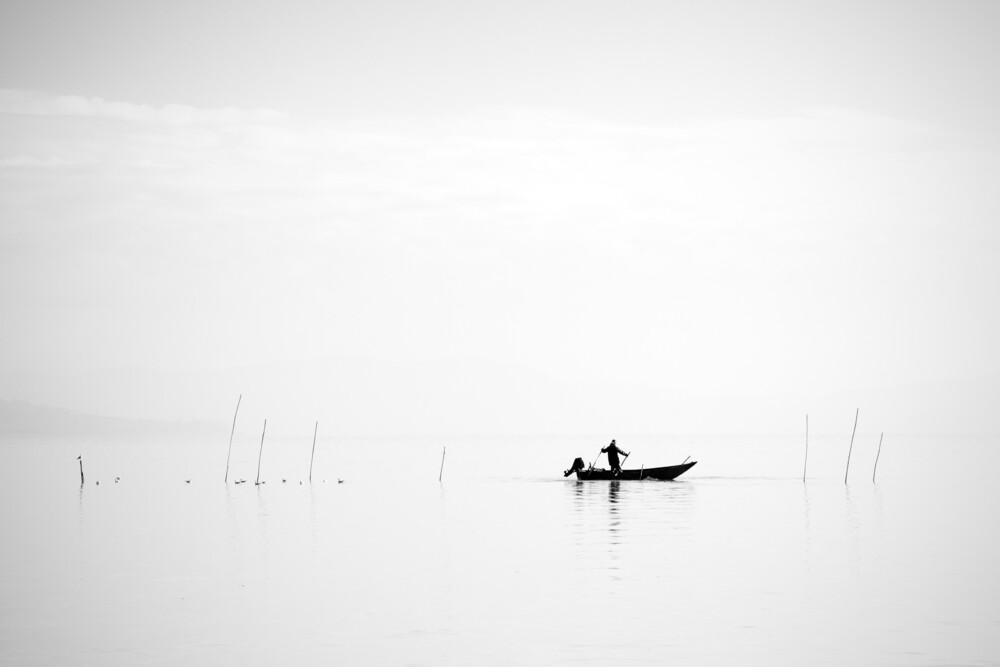Der Fischer - fotokunst von Oliver Buchmann