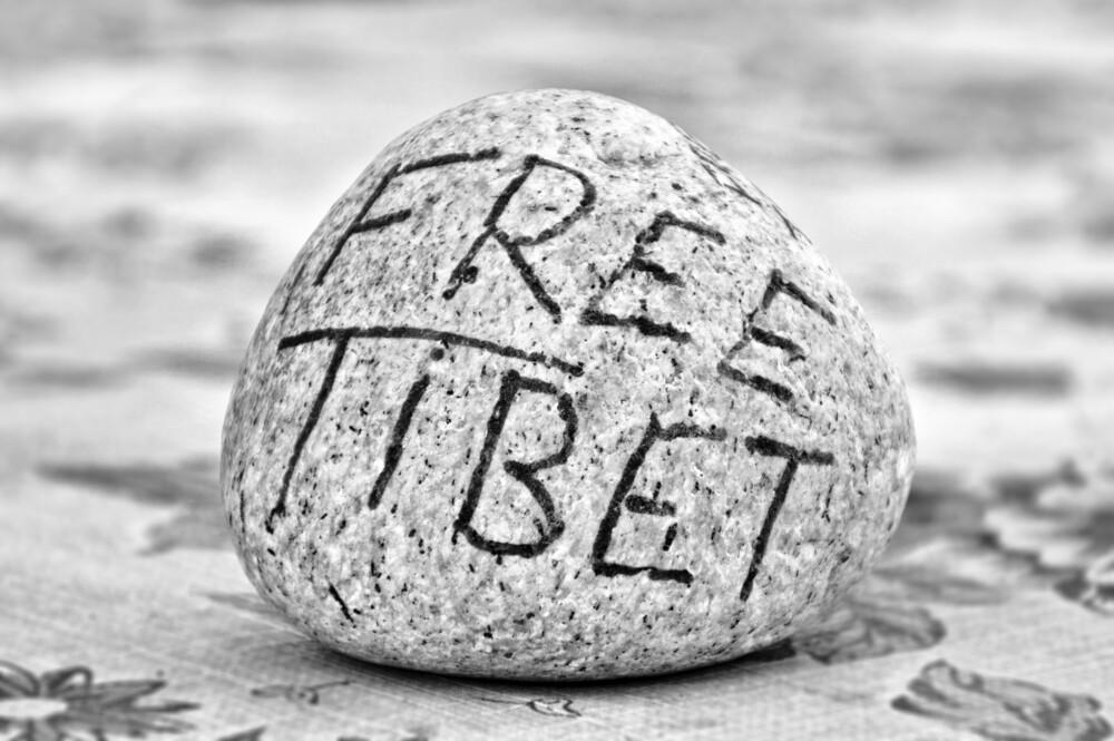 Free Tibet - fotokunst von Victoria Knobloch