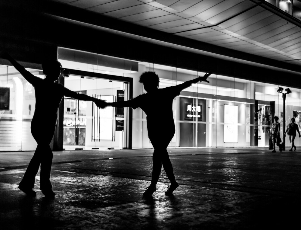 street dancing - Fineart photography by Rob Smith