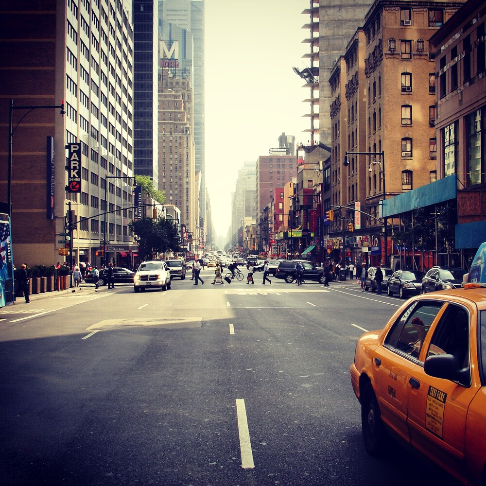 New York City - fotokunst von Gordon Gross