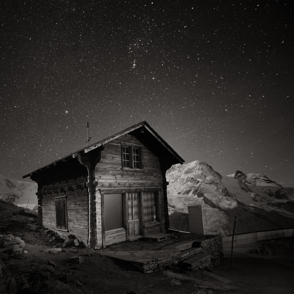 Gornergrat Hut - Fineart photography by Ronny Behnert