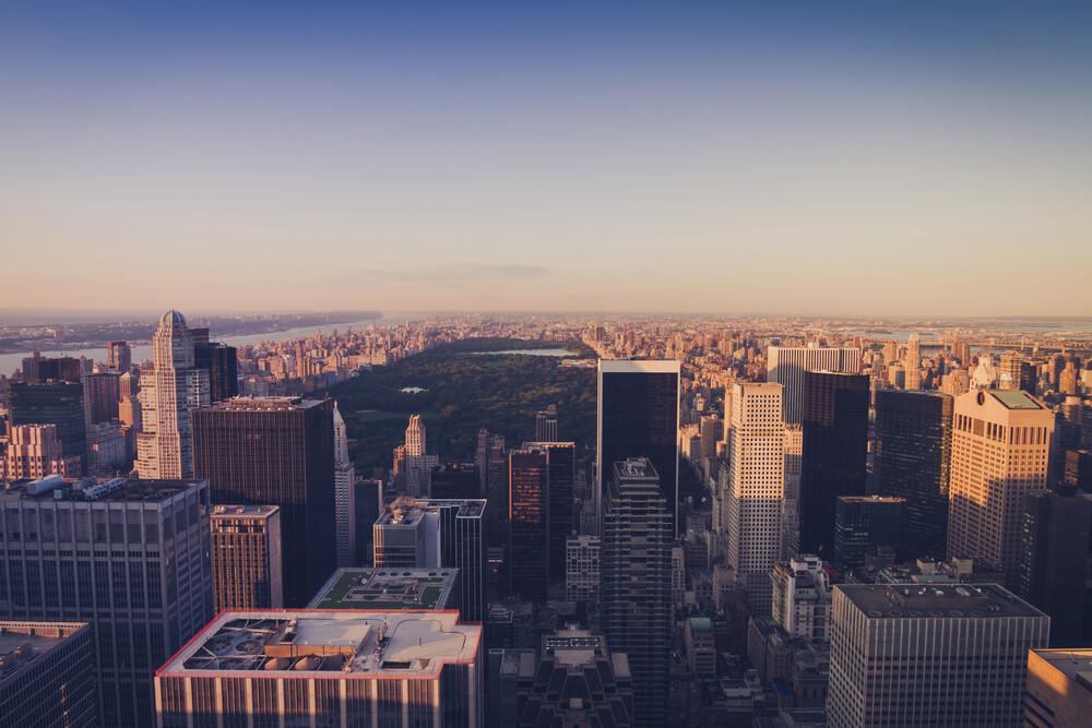 Central Park   New York City - fotokunst von Thomas Richter
