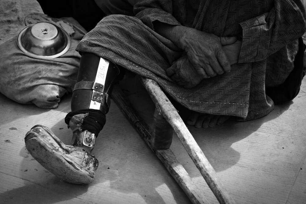 Shuttered Hopes - Fineart photography by Rada Akbar