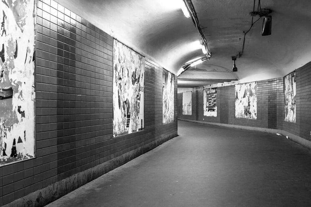 La Métro II - fotokunst von Sascha Bachmann