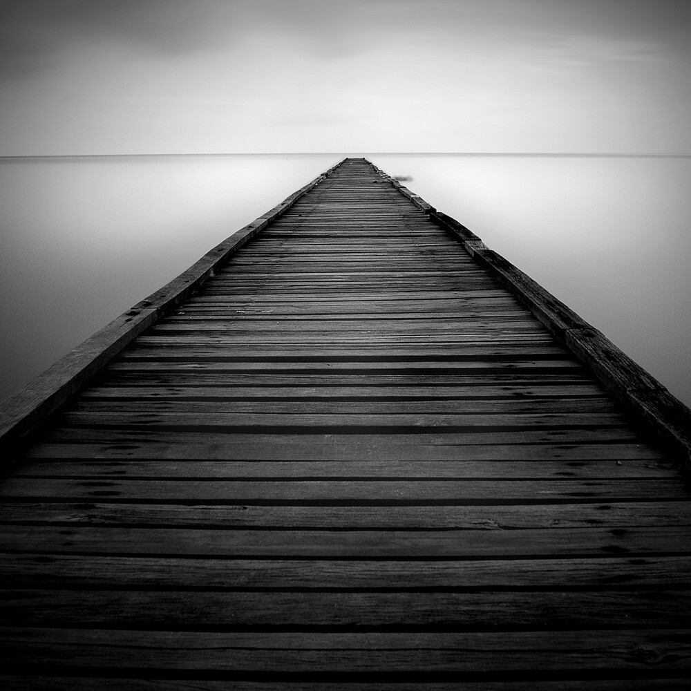 Until the edge - fotokunst von How Pin Tang