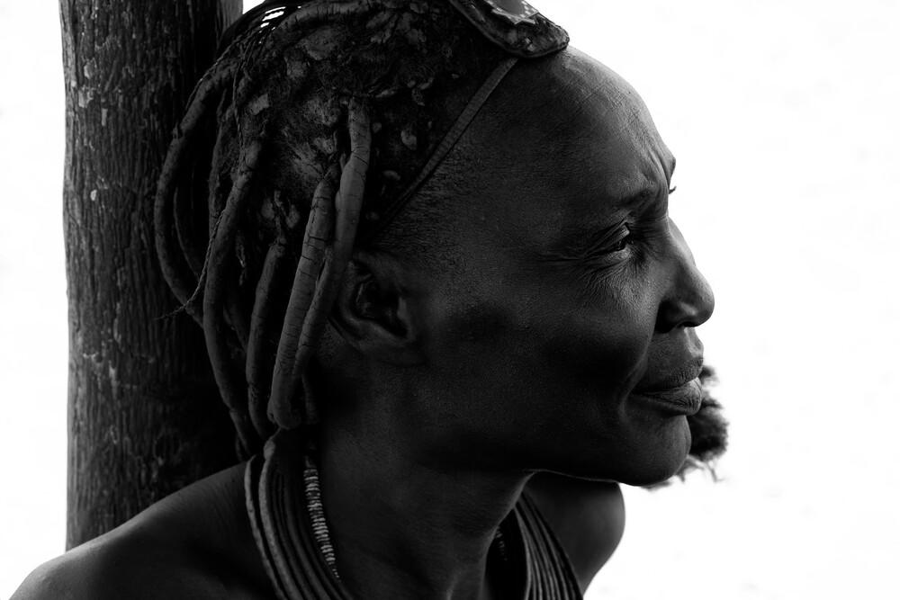 Himba woman - fotokunst von Nicole Cambré