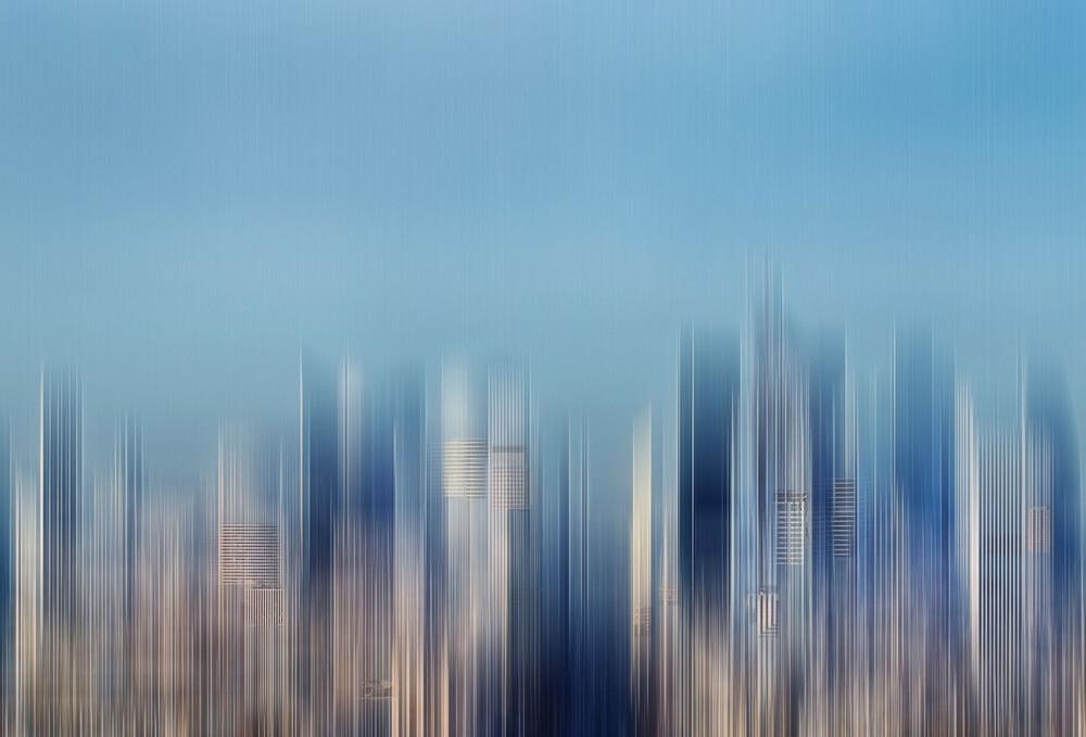 BlueVision - fotokunst von Klaus-peter Kubik