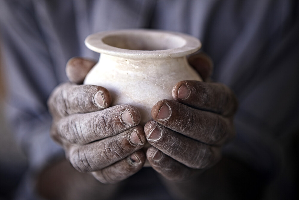 Egyptian hands - Fineart photography by Ingetje Tadros