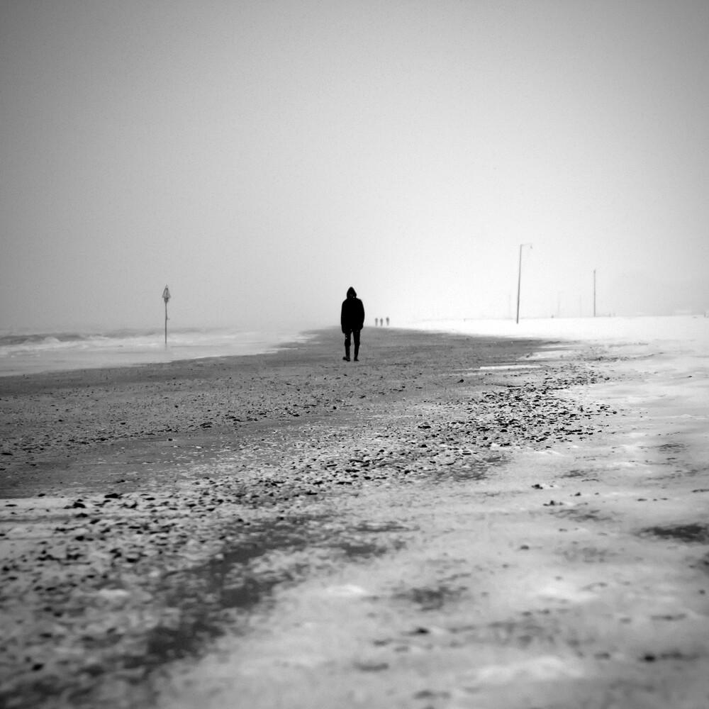 margin walker - Fineart photography by Emiliano Grusovin