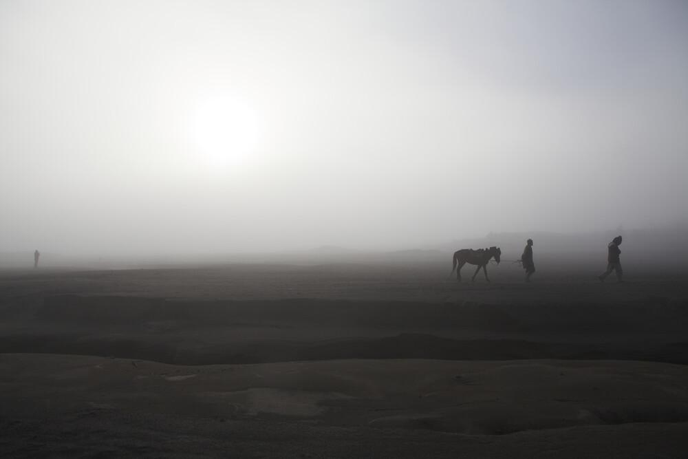 Sunrise at Mount Bromo, Java, Indonesia - fotokunst von Christina Feldt