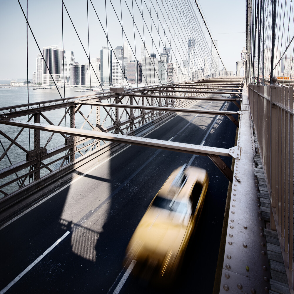 Yellow Cab - NYC, USA 2013 - Fineart photography by Ronny Ritschel