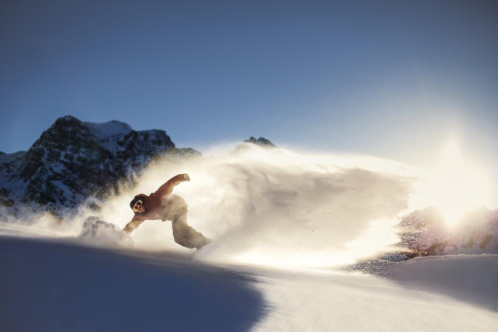 icy spray - fotokunst von Jan Eric Euler