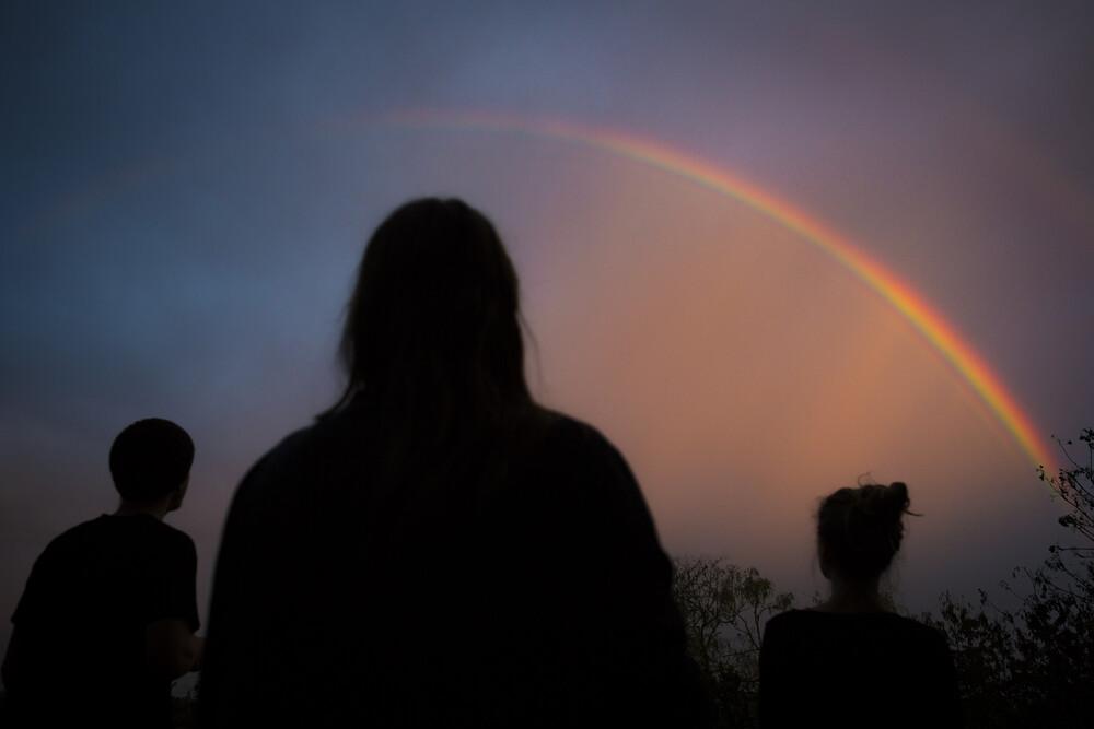 rainbows for breakfast - fotokunst von Jan Eric Euler