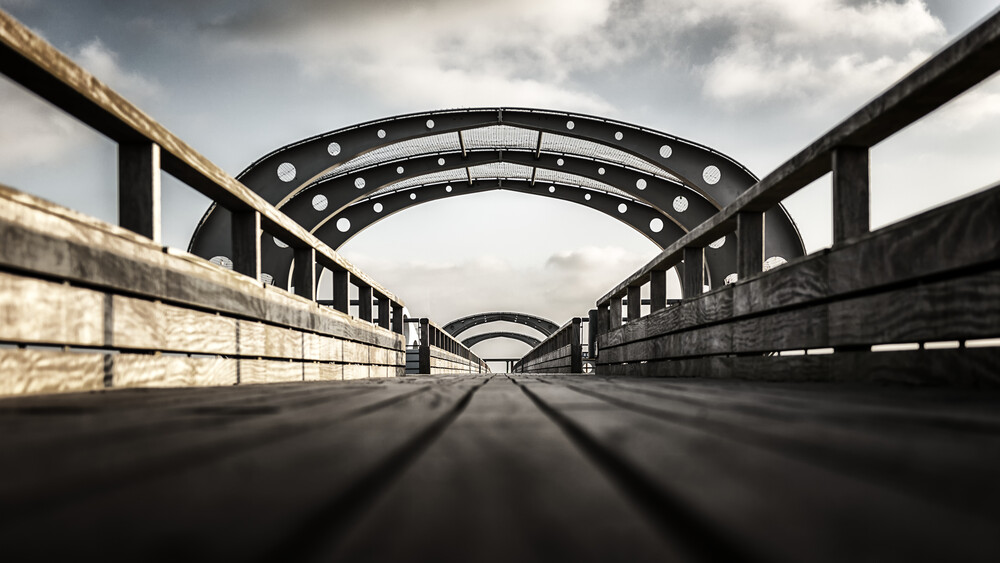 Seebrücke Kellenhusen - Fineart photography by Gabi Kuervers