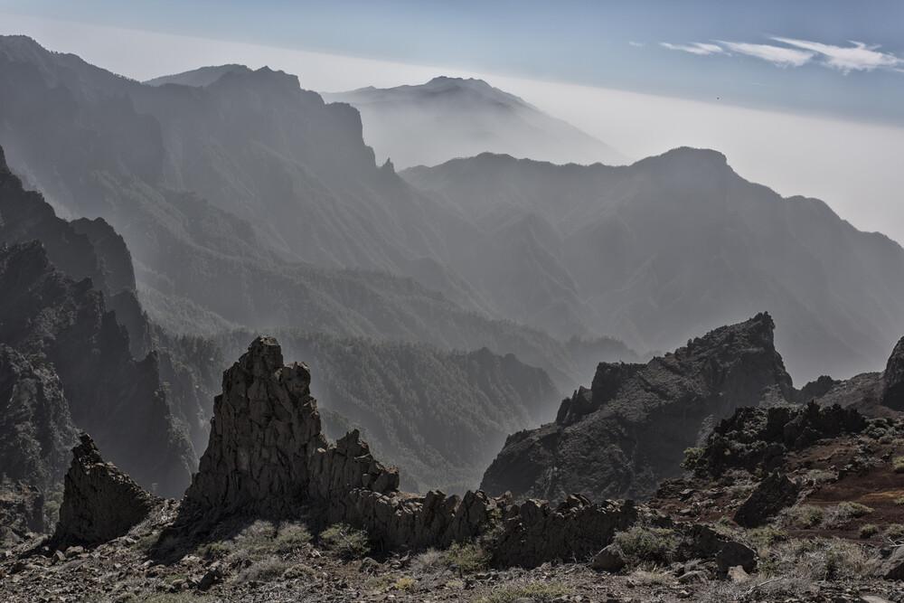 La Palma Ausblick - fotokunst von Angelika Stern
