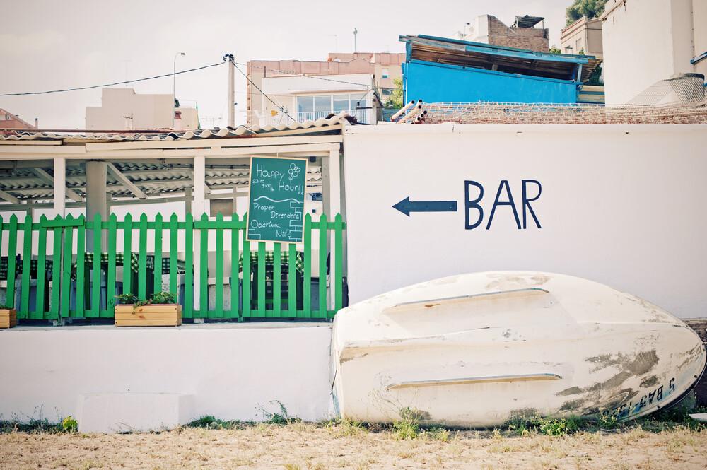 Barcelona Beach Bar - Fineart photography by Andrina Peric