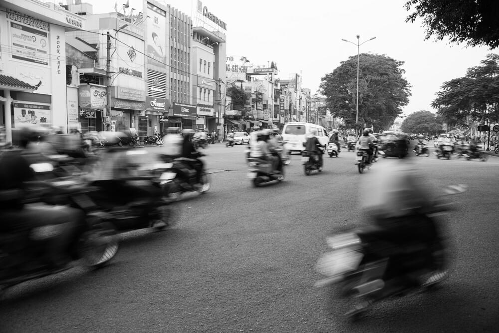 Traffic. - fotokunst von Dominik Oßwald