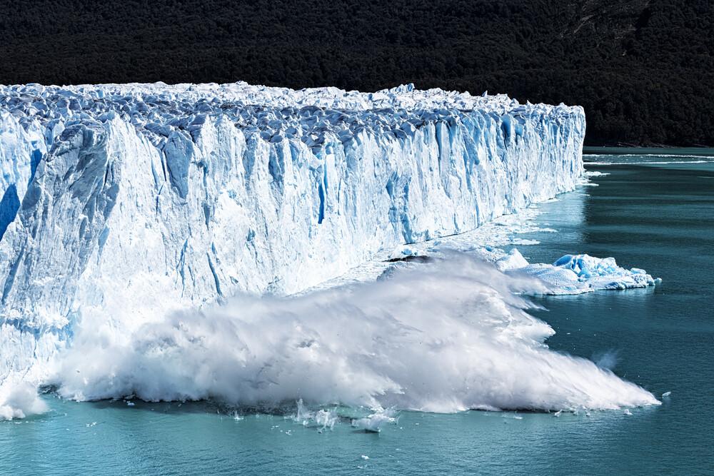 Gletscherabbruch - fotokunst von Stefan Schurr