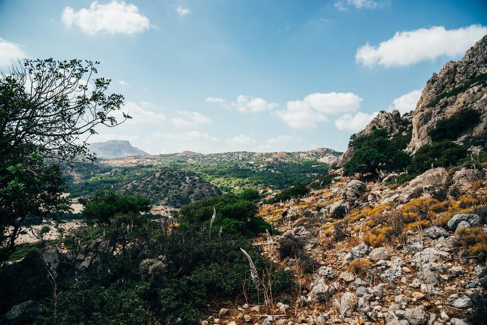 Tsambika Mountain - fotokunst von Dennis F. Arnold