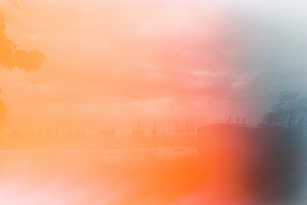 Hamburger Hafen - fotokunst von Dennis F. Arnold
