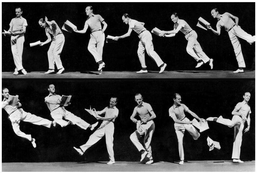 Fred Astaire - fotokunst von Süddeutsche Zeitung Photo