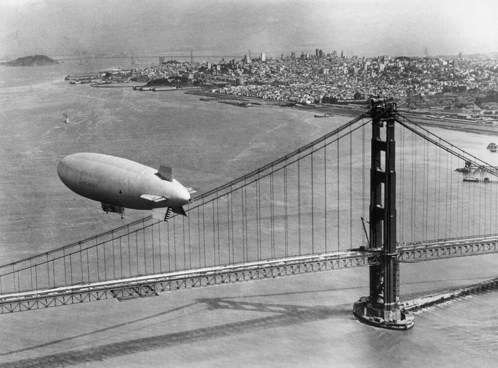 Golden Gate Bridge - fotokunst von Süddeutsche Zeitung Photo
