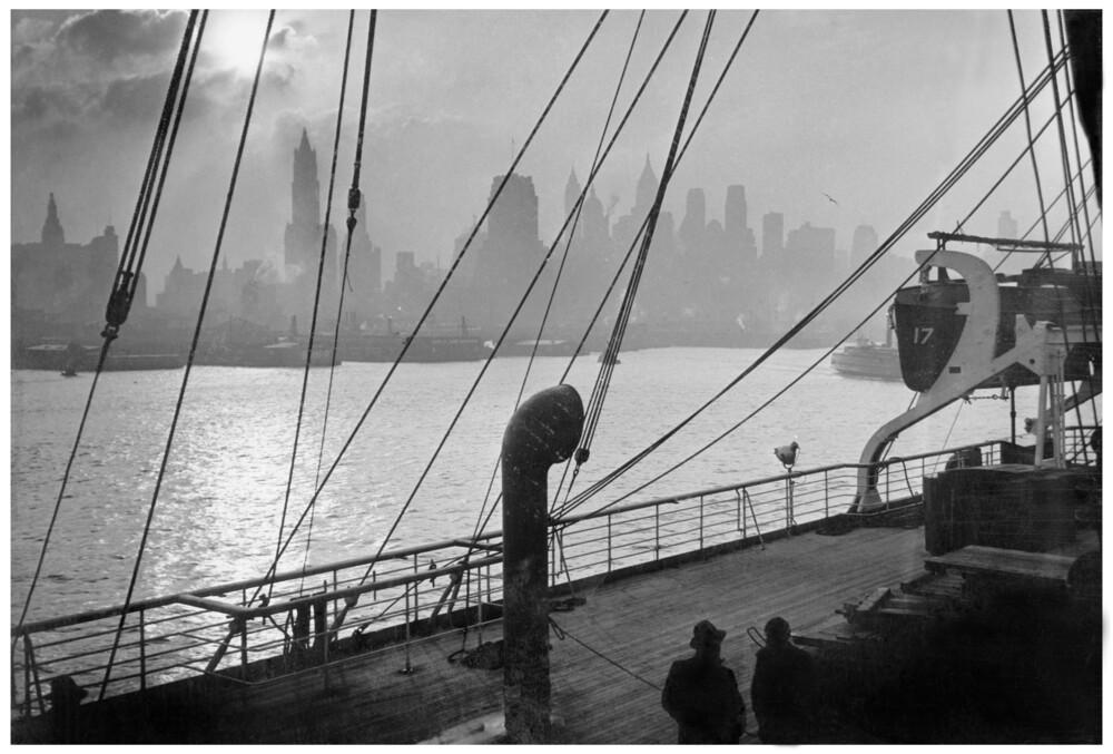 Hafen von New York - fotokunst von Süddeutsche Zeitung Photo