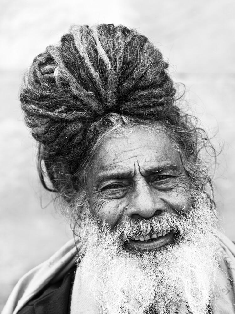 wise sadhu - Fineart photography by Jagdev Singh