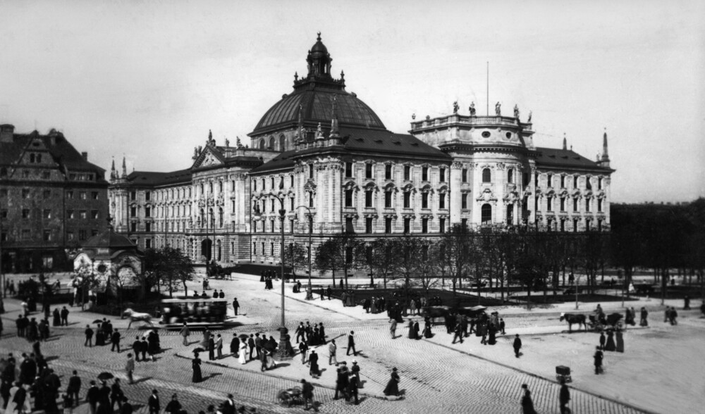 Justizpalast in München - fotokunst von Süddeutsche Zeitung Photo