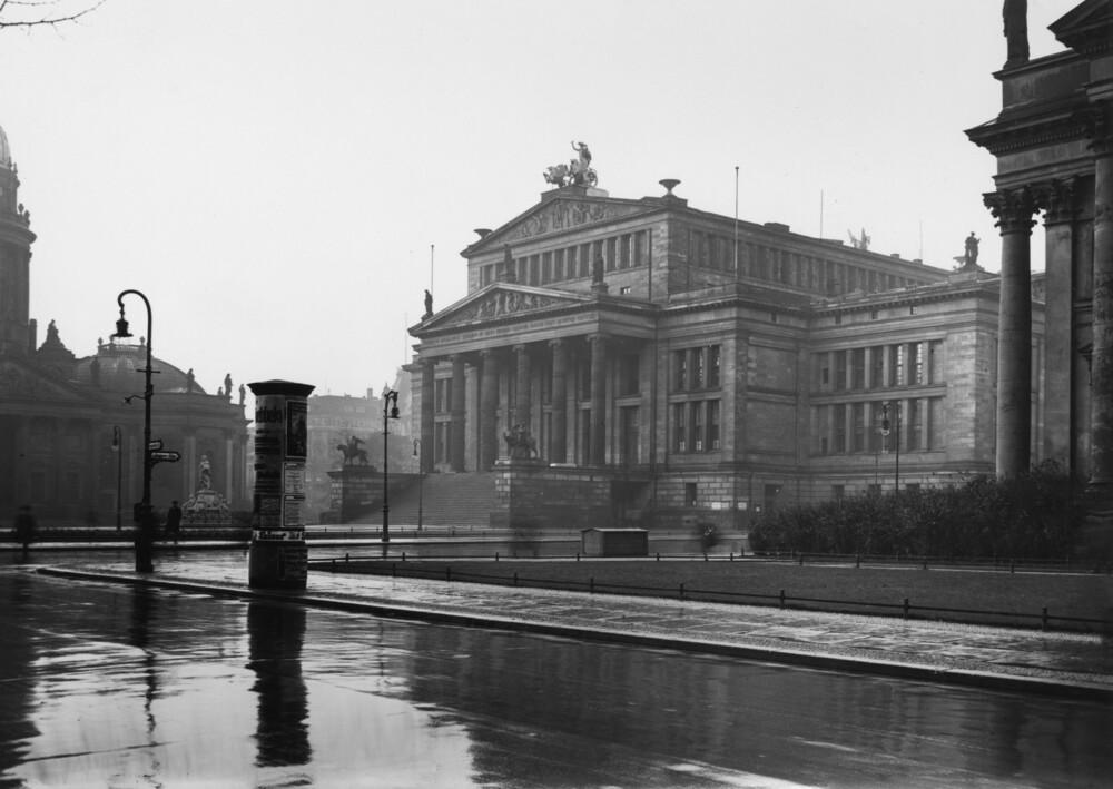Staatliches Schauspielhaus - fotokunst von Süddeutsche Zeitung Photo