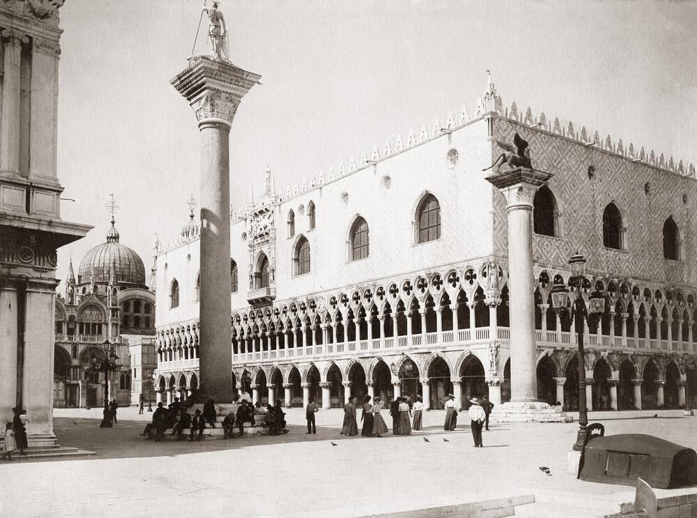 Markusplatz in Venedig - fotokunst von Süddeutsche Zeitung Photo