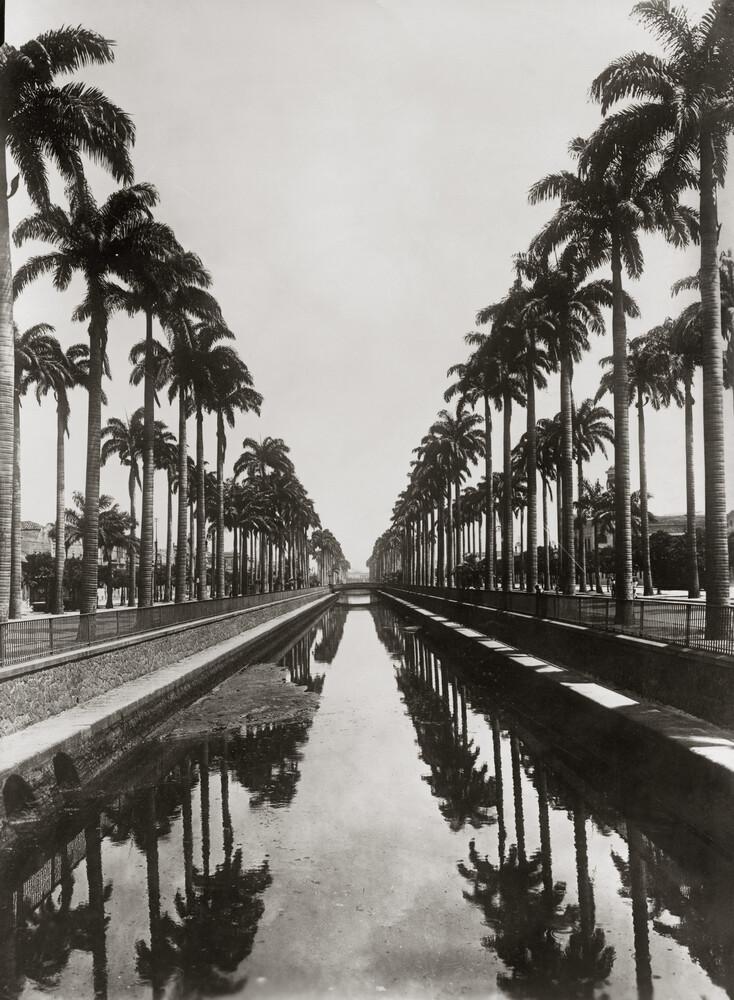 Kanal in Rio de Janeiro - fotokunst von Süddeutsche Zeitung Photo