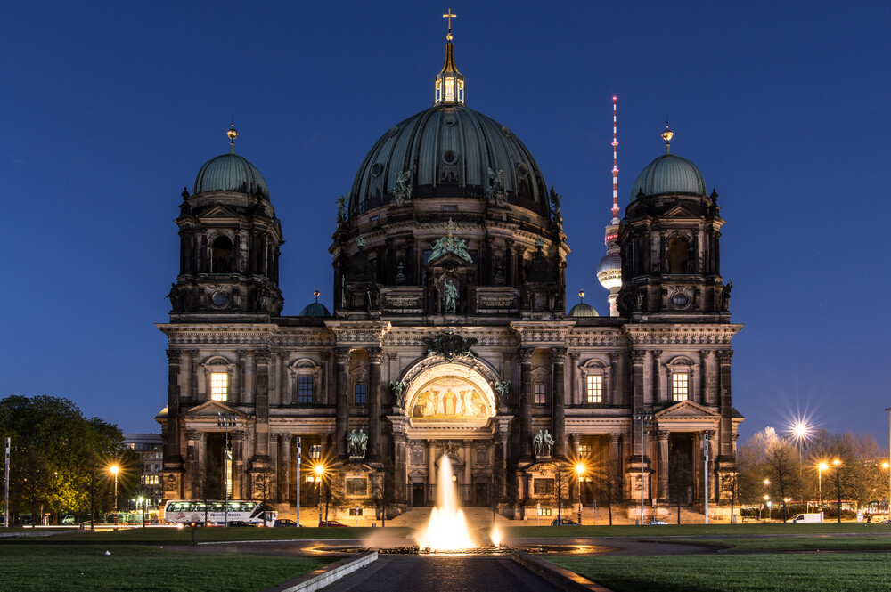 Berliner Dom - Fineart photography by Philipp Weindich