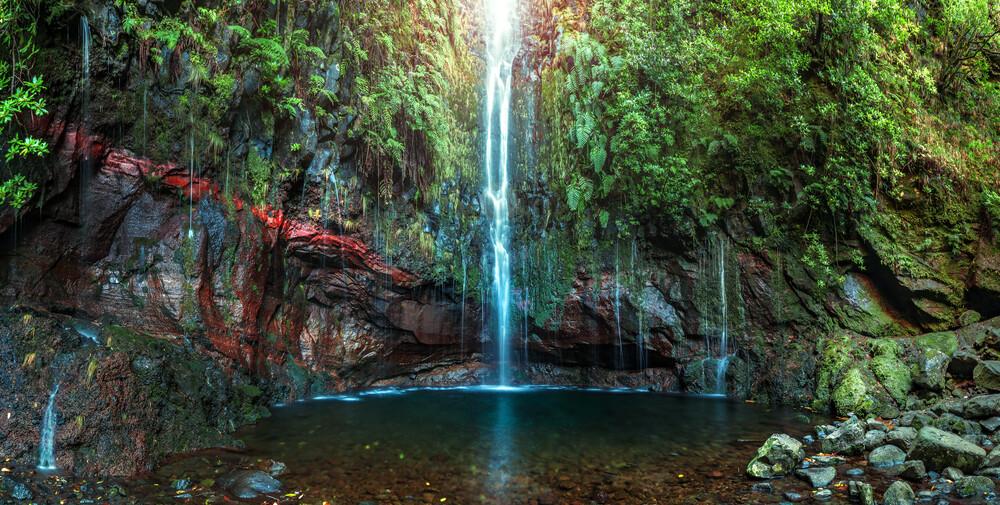 Madeira - 25 Fontes Panorama - fotokunst von Jean Claude Castor