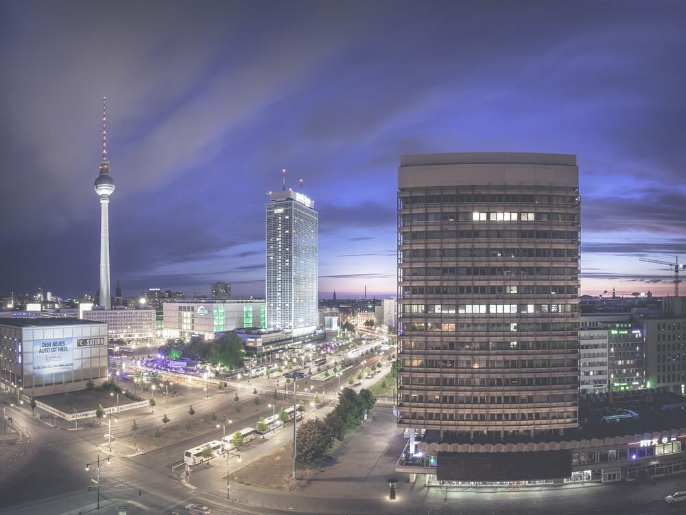 Alexanderplatz - Fineart photography by Ronny Behnert