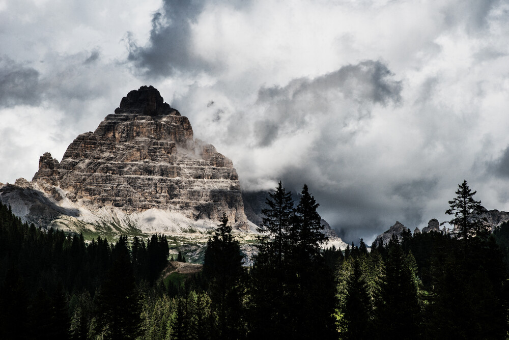 Drei Zinnen - Dolomiten - fotokunst von Michael Wagener